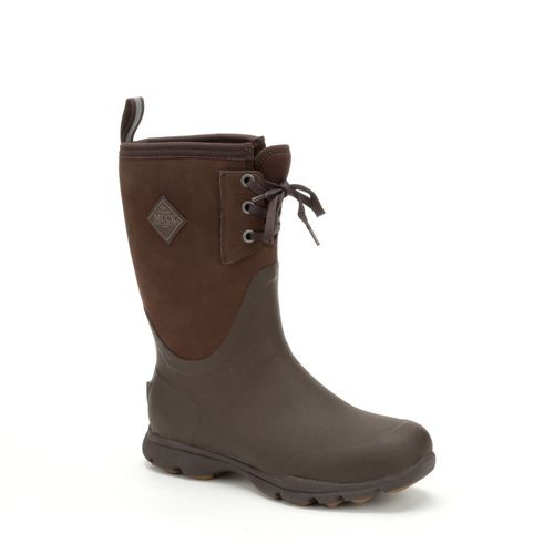 Muck Boots Arctic Excursion Nubuck Leather Lace Mid-Bison