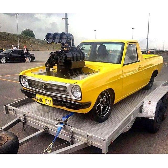 Low Fast Famous Datsun Pickup Datsun Drag Racing Cars