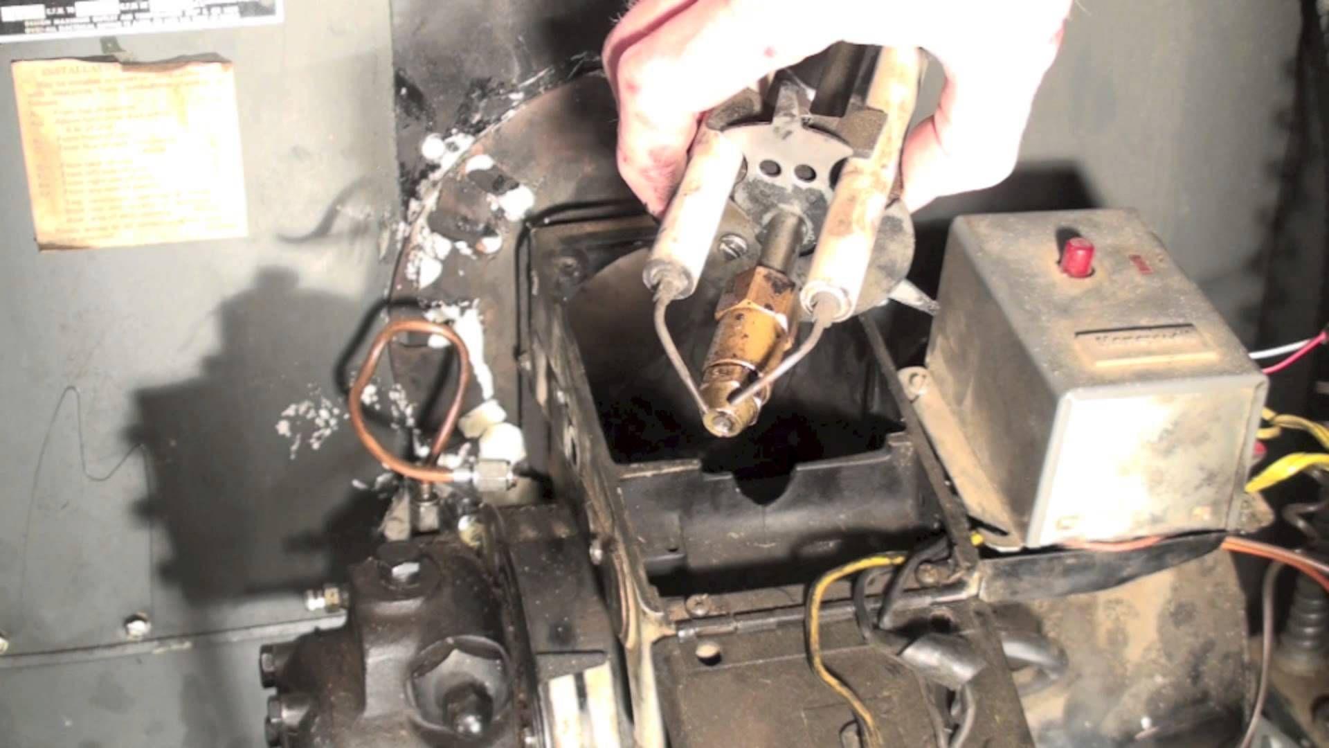 Oil Furnace Troubleshoot Part 2 No Flame Oil Furnace Furnace