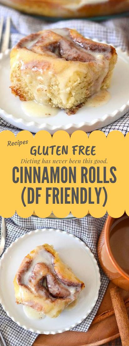 Gluten free Cinnamon Rolls #glutenfree #glutenfreebreakfasts
