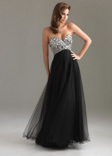 Black night dresses 2014 – Dress and bottoms