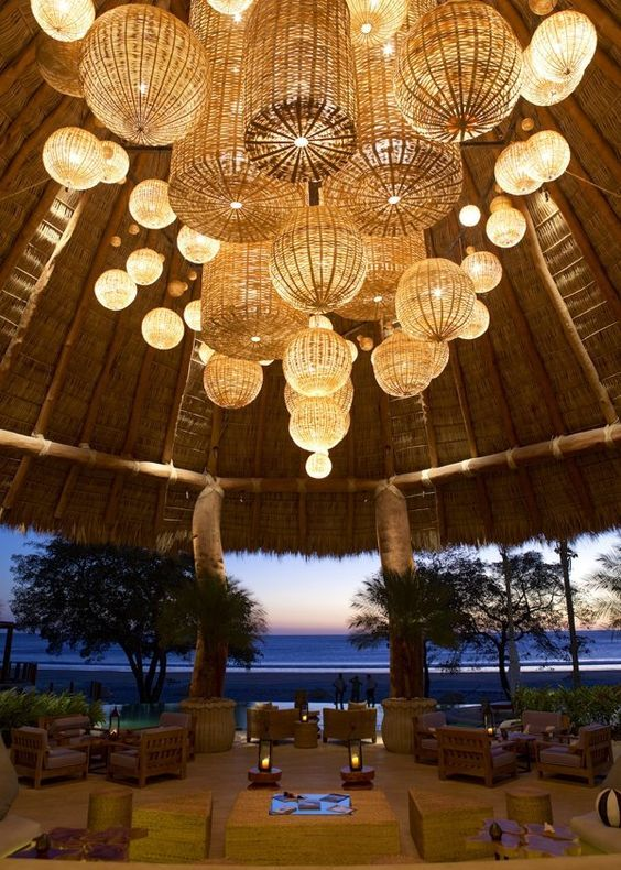 Spectacular Lobby Of Mukul Resort Nicaragua Mirabello Interiors