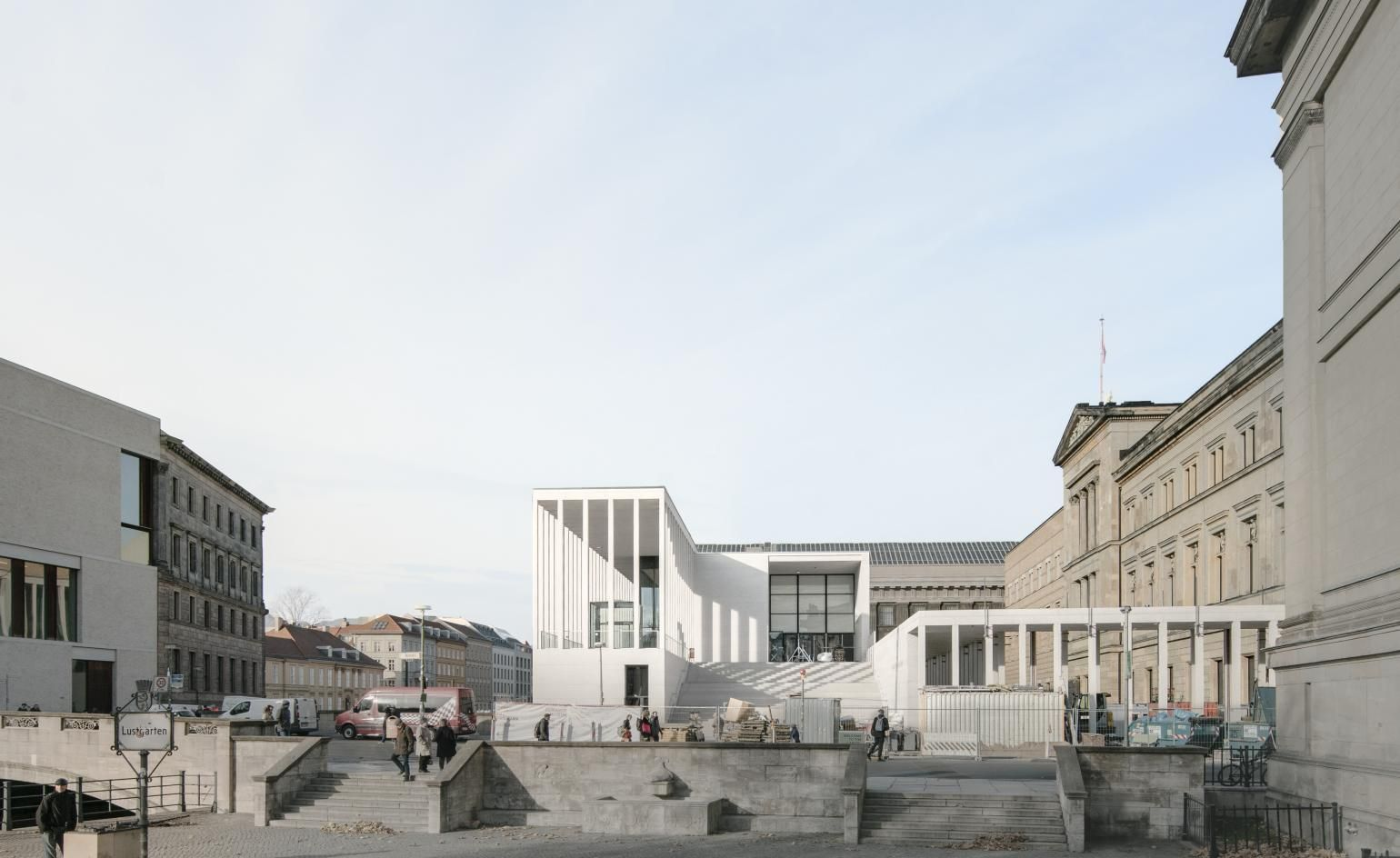 David Chipperfield S James Simon Galerie In Berlin Gears Up For Summer Opening David Chipperfield Architects Arch Building David Chipperfield Architecture