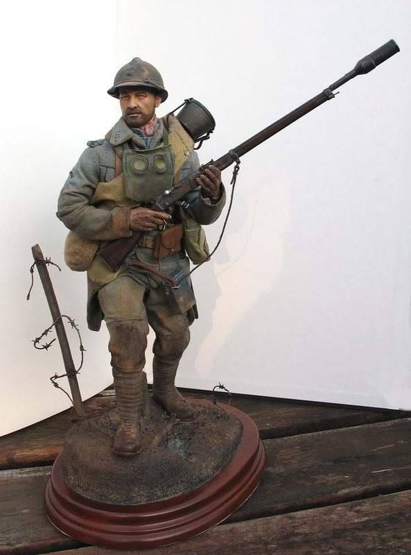 Toy Model Gallery : Wwi figures and dioramas in several different scales