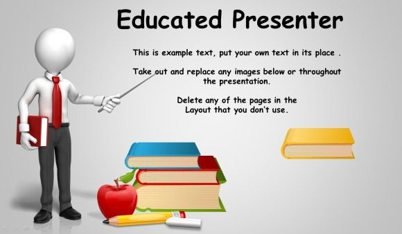 Educational Presentation Template For PowerPoint Template