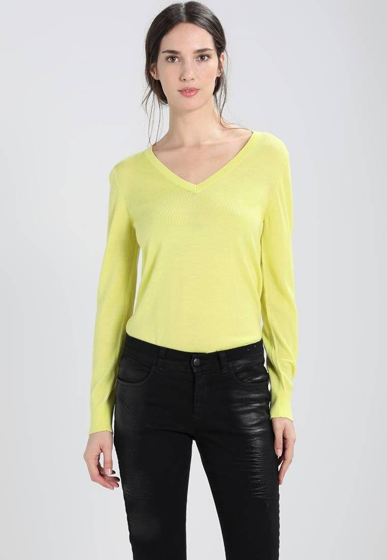 f94f8991e063 Banana Republic. Jersey de punto - yellow. Transparencia:poco ...