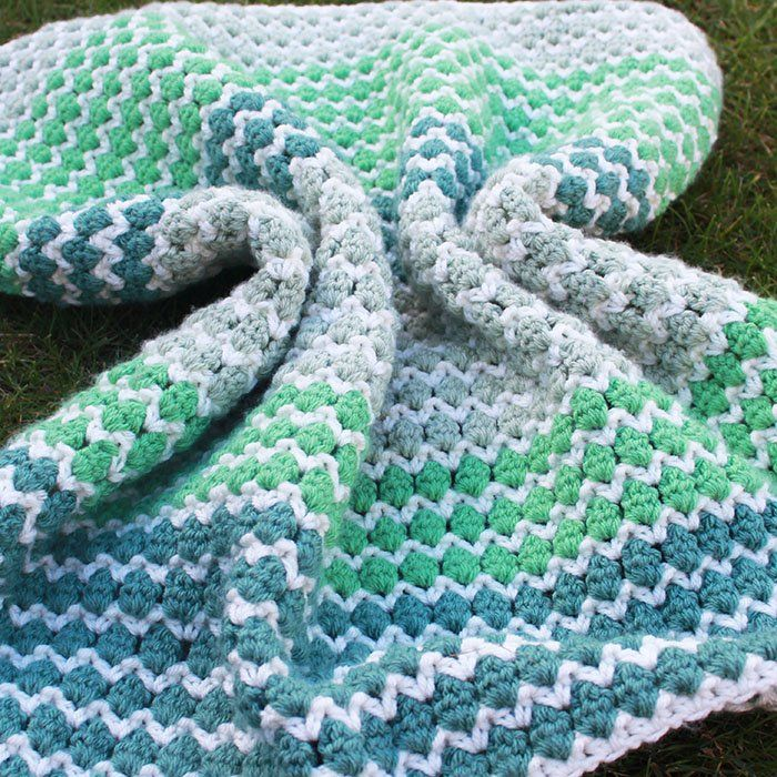 Spring To Life Crochet Baby Blanket (Free Pattern) images
