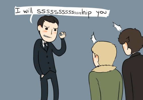 Moriarty has become the fandom. Wait a second... Moriarty has always been the fandom... Let that sink in for a minute.