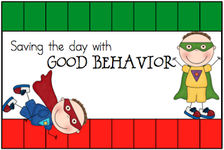 The Eager Teacher: Behavior Punch Cards- Free Through Friday
