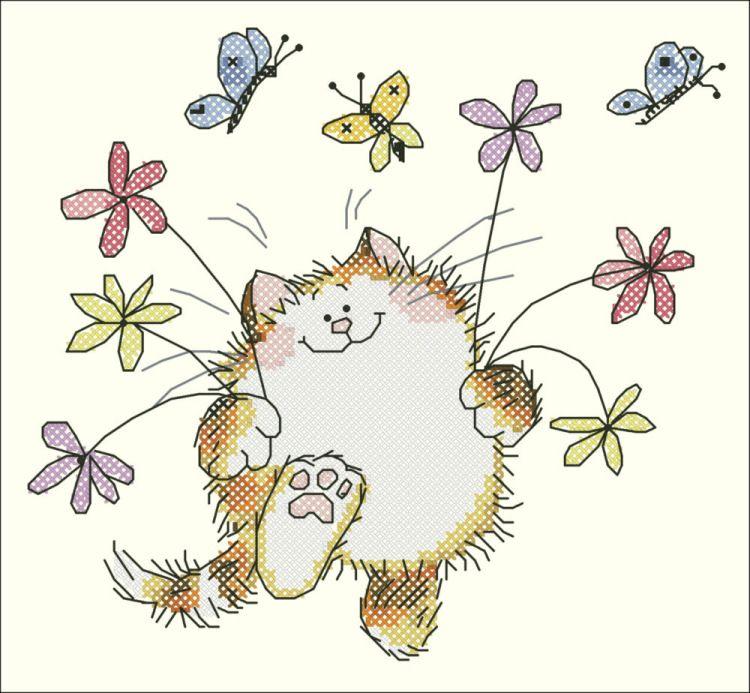Надписью жмотяра, нарисовать смешные цветочки
