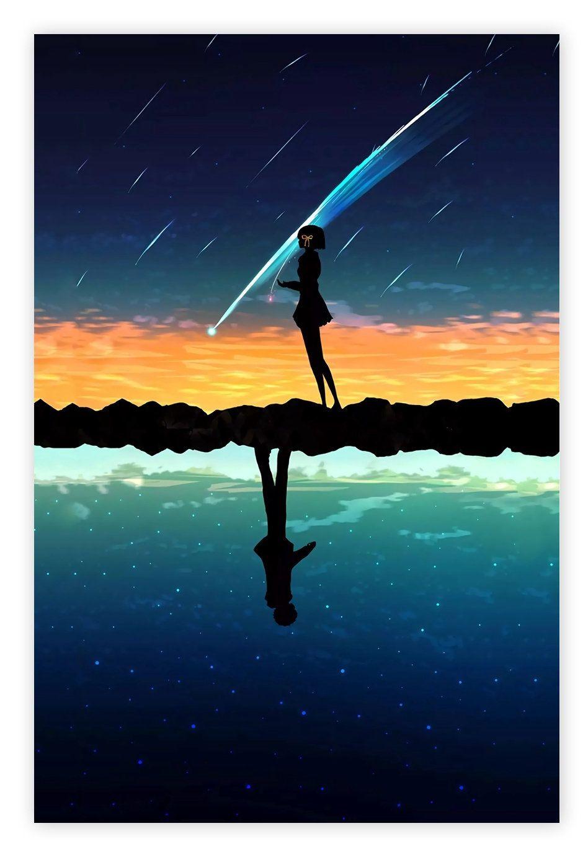 Kimi no Na Wa (Your Name) Poster,High quality canvas poster,no frame