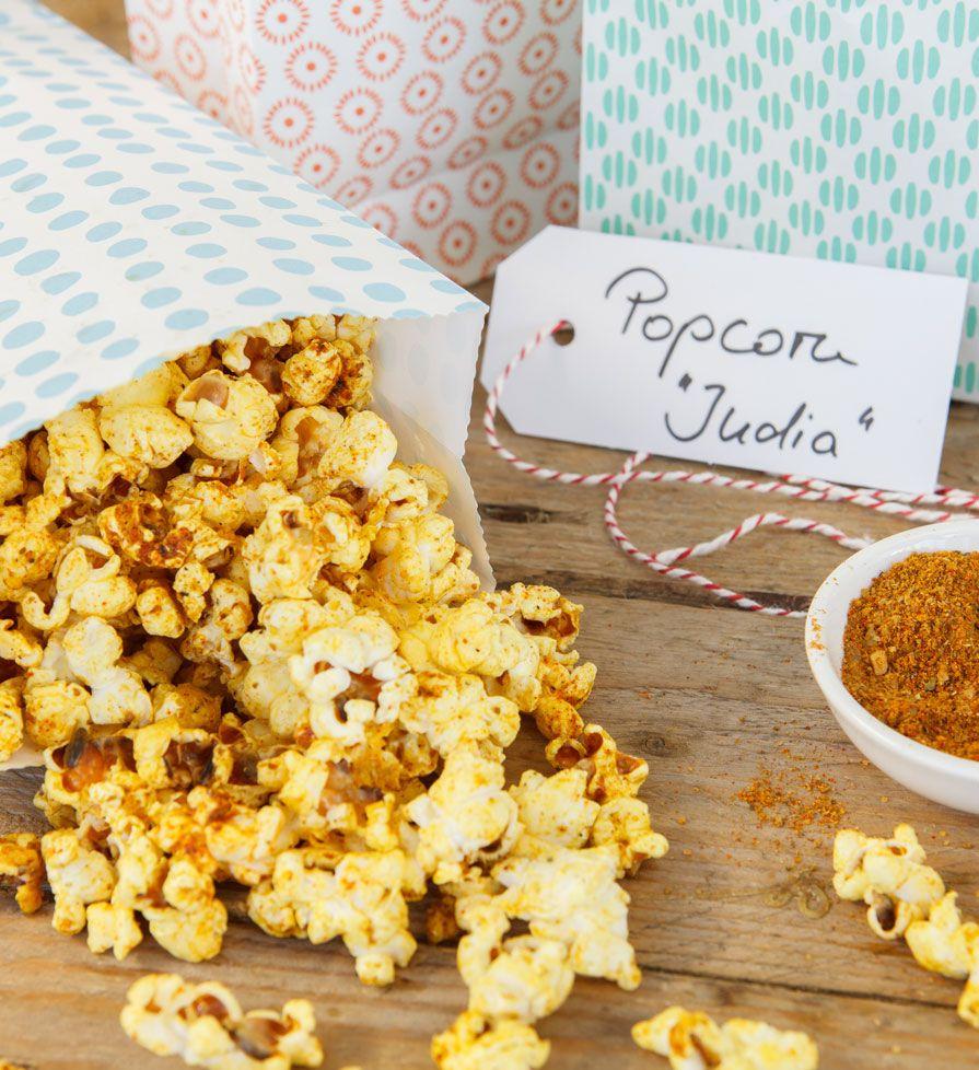 pikantes popcorn rezept snacks drinks f r den wm. Black Bedroom Furniture Sets. Home Design Ideas