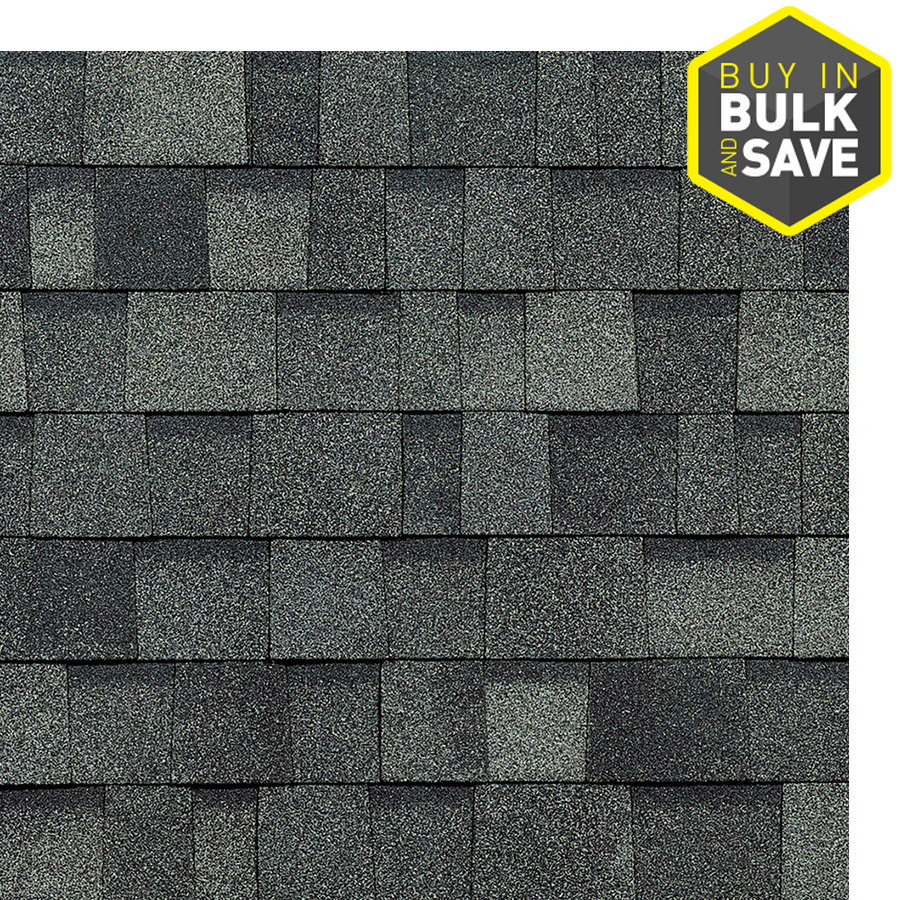 Owens Corning Oakridge 32 8 Sq Ft Estate Gray Laminated Architectural Roof Shingles Lowes Com In 2020 Architectural Shingles Roof Roof Shingle Colors House Paint Exterior