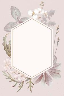 Download Rectangle Rose Frame On Marble Background for free