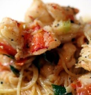 Luxurious King Prawn Spaghetti