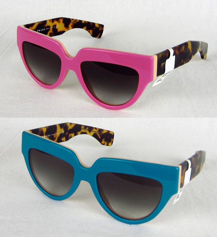c39cde336e418 best price new womens prada poeme spr29p sunglasses cat eye pink blue  tortoise authentic 2d393 2977b