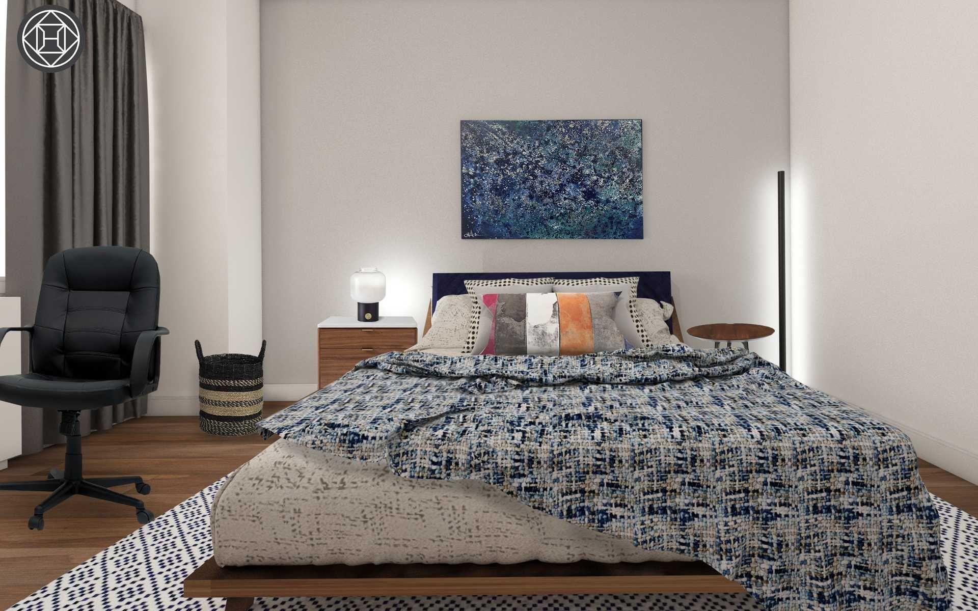 Contemporary Bedroom Design By Havenly Interior Designer Sharon Bedroom Design Contemporary Bedroom Design Interior Design