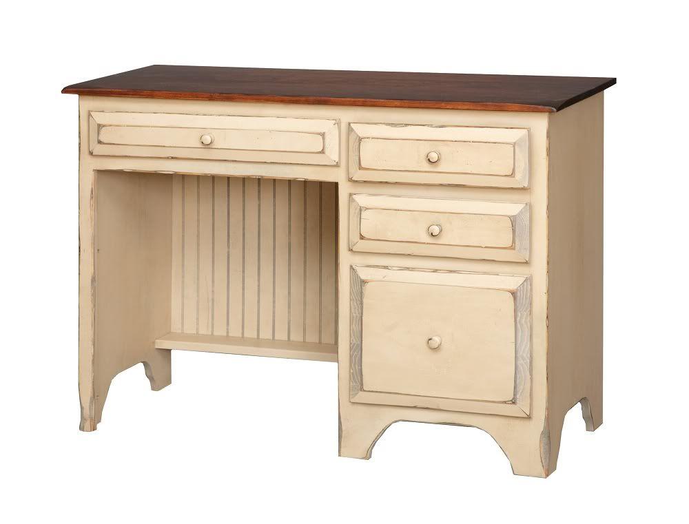 Details about Primitive Furniture Student Desk Office Den Country