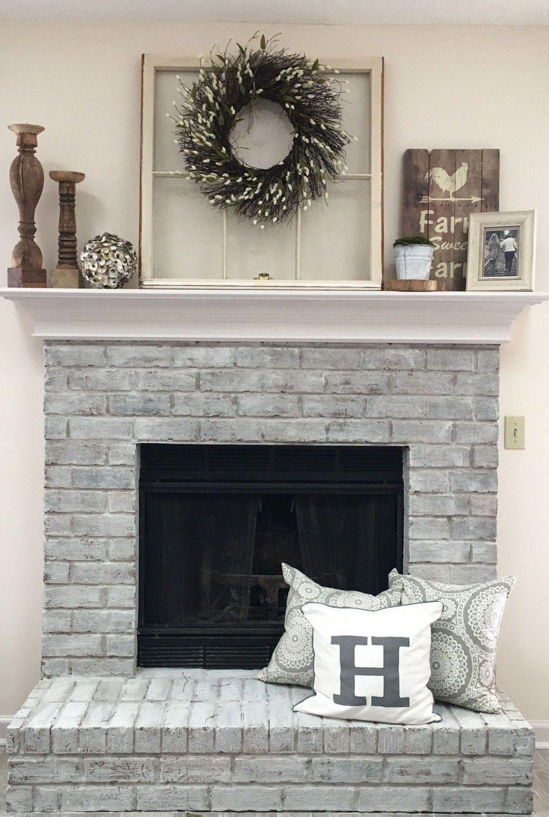 30  Interesting Fireplace Makeover For Farmhouse Home Decor - Home Decor Ideas 2020