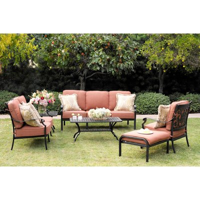 Astoria Grand Mccraney 48 Piece Deep Seating Group With Cushions New Darlee Patio Furniture Minimalist