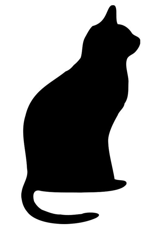 malvorlagen der schwarzen katze malvorlage schwarze katze