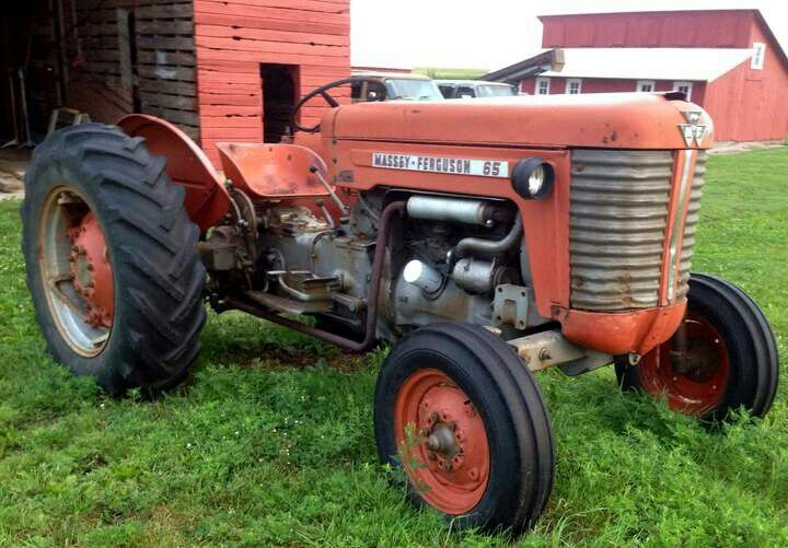 Massey Ferguson 65 Tractors Classic Tractor Old Tractors