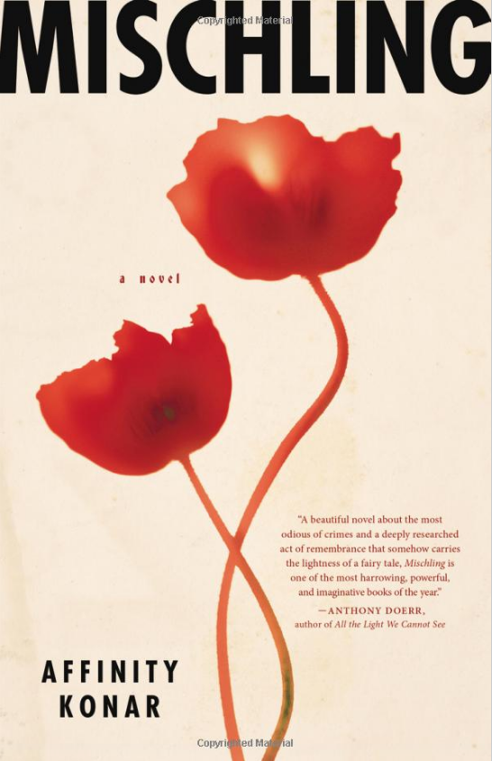 Amazon's Book of the Month ~ Mischling  Prices range from $0.00 – $22.05 depending on your choice of book.    Written by Affinity Konar (Author)   Pearl is in charge of: the sad, the good, the past. Stasha must care for: the funny, the future, the bad. It's 1944 when the twin sisters arrive at Auschwitz with their mother and grandfather. In their benighted new world, Pearl and Stasha Zagorski take refuge in their identical natures, comforting themselves with the private >>>>>>>>>