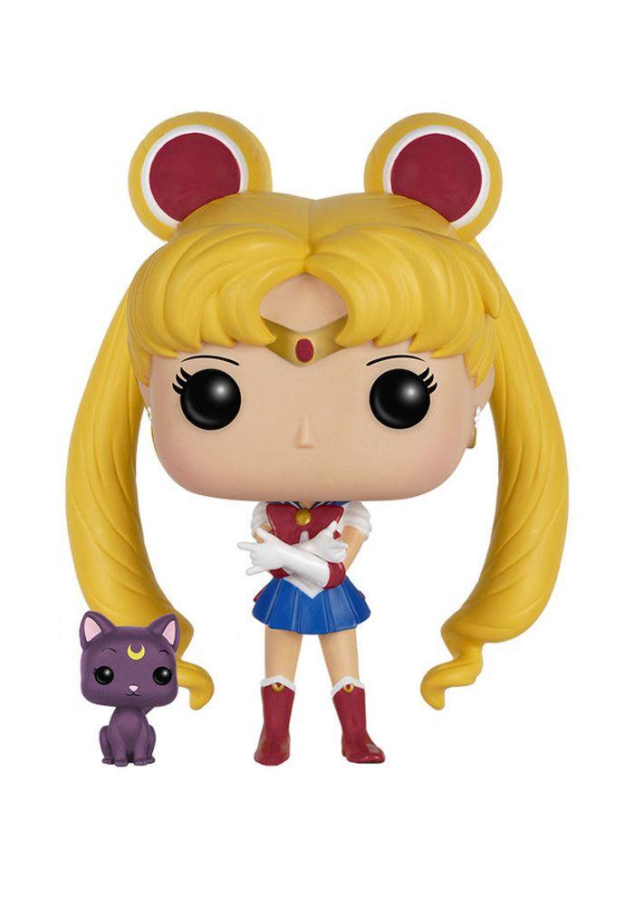 0c040305839 Funko Pop! Anime  Sailor Moon - Sailor Moon With Luna