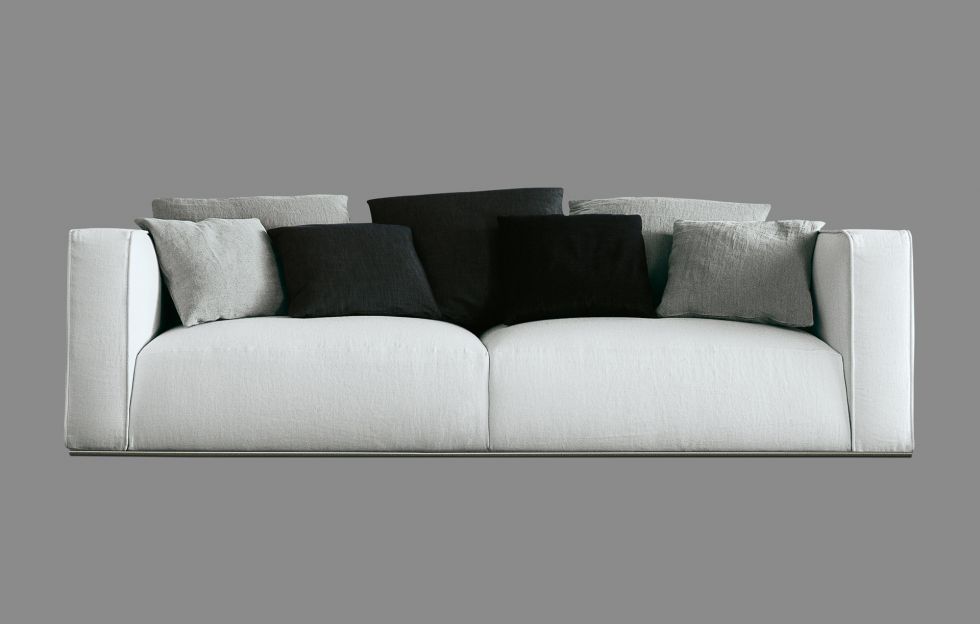 The Design Ability Of Carlo Colombo Provides Shangai, A Modular Sofa  Featuring A Modern And Essential Style.