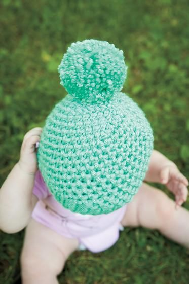 Bee Stitch Hat - Knitting Patterns and Crochet Patterns from KnitPicks.com db7f407cdd7