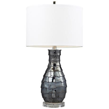 Cooper Navy Pearl Table Lamp -