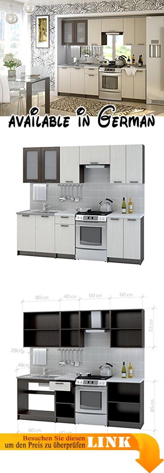 Fabelhaft Einbauküche Angebot Sammlung Von Top-angebote!!! KÜche Riviera 240 Cm KÜchenzeile EinbaukÜche
