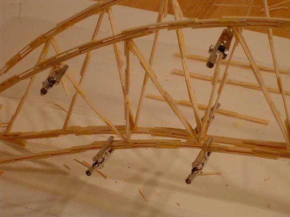 The Toothpick Bridge Proyectos Pinterest Bridge