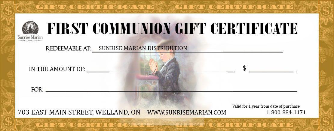 Catholic Gift Certificate Gift certificates, Certificate and Gift - best of ordination certificate free