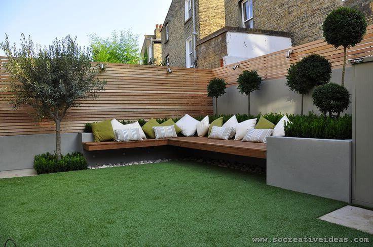 22 Creative Backyard Seating Ideas Design Jardin Jardin Moderne