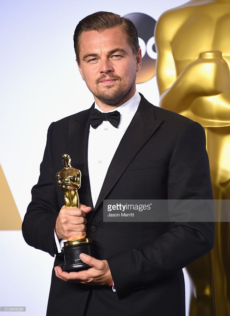 Actor Leonardo DiCaprio, winner of Best Actor for 'The Revenant,' poses in the press room during the 88th Annual Academy Awards at Loews Hollywood Hotel on February 28, 2016 in Hollywood, California.