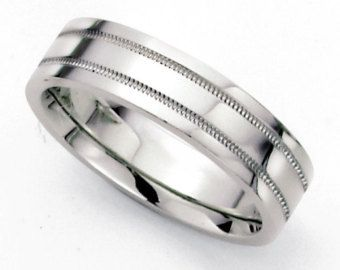 tiffany mens platinum wedding bands Mens 950 Platinum Wedding