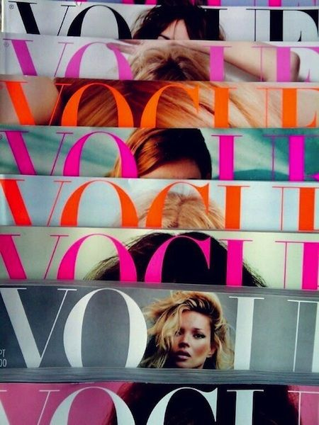 Snapshot - Vogue Masthead Multicolour