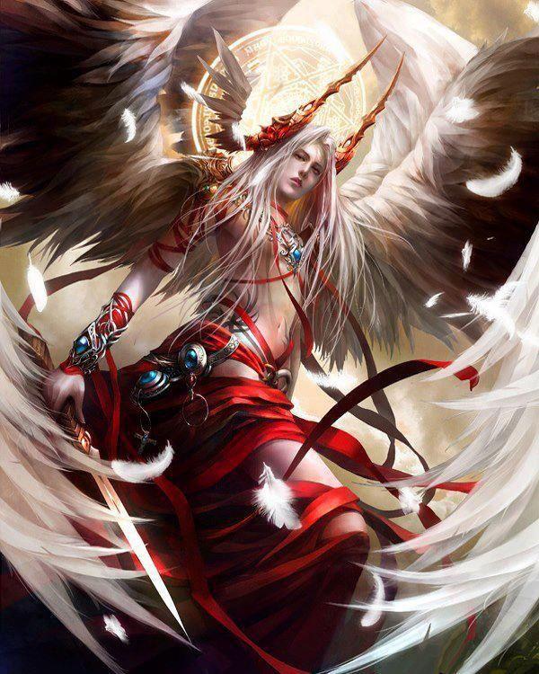 Anime Warrior Angels Of God