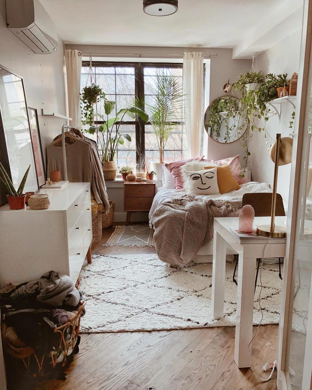 58 Small Scandinavian Bedroom Ideas In 2020 With Images Dorm Room Decor Cozy Dorm Room Aesthetic Room Decor