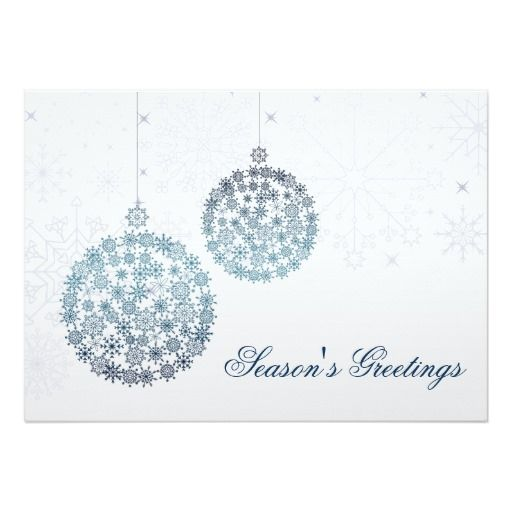 Blue snowflakes ornaments holiday greetings card watercolor blue snowflakes ornaments holiday greetings card watercolor christmas tree christmas card christmascards greetingcards m4hsunfo