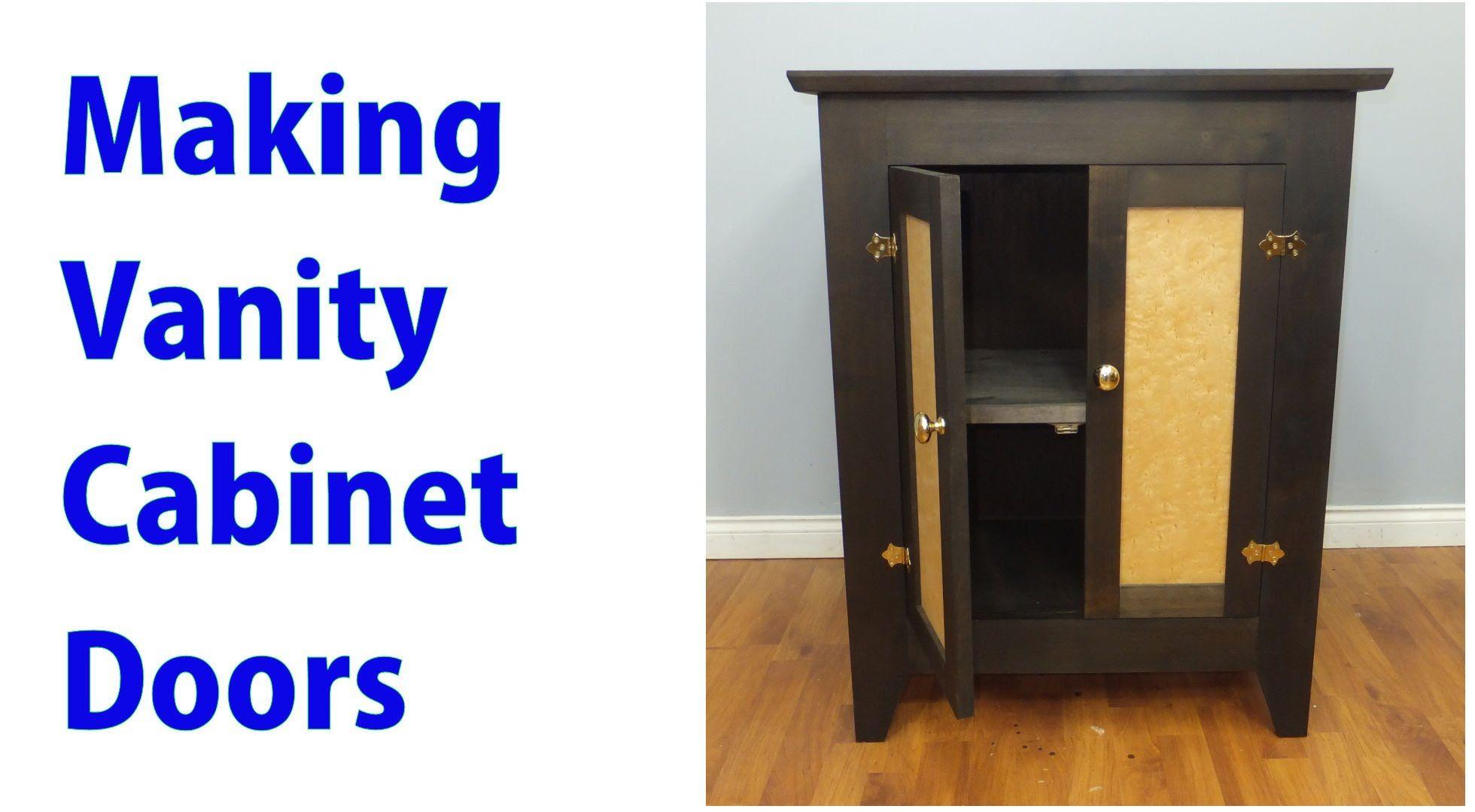 How to make vanity doors vanity