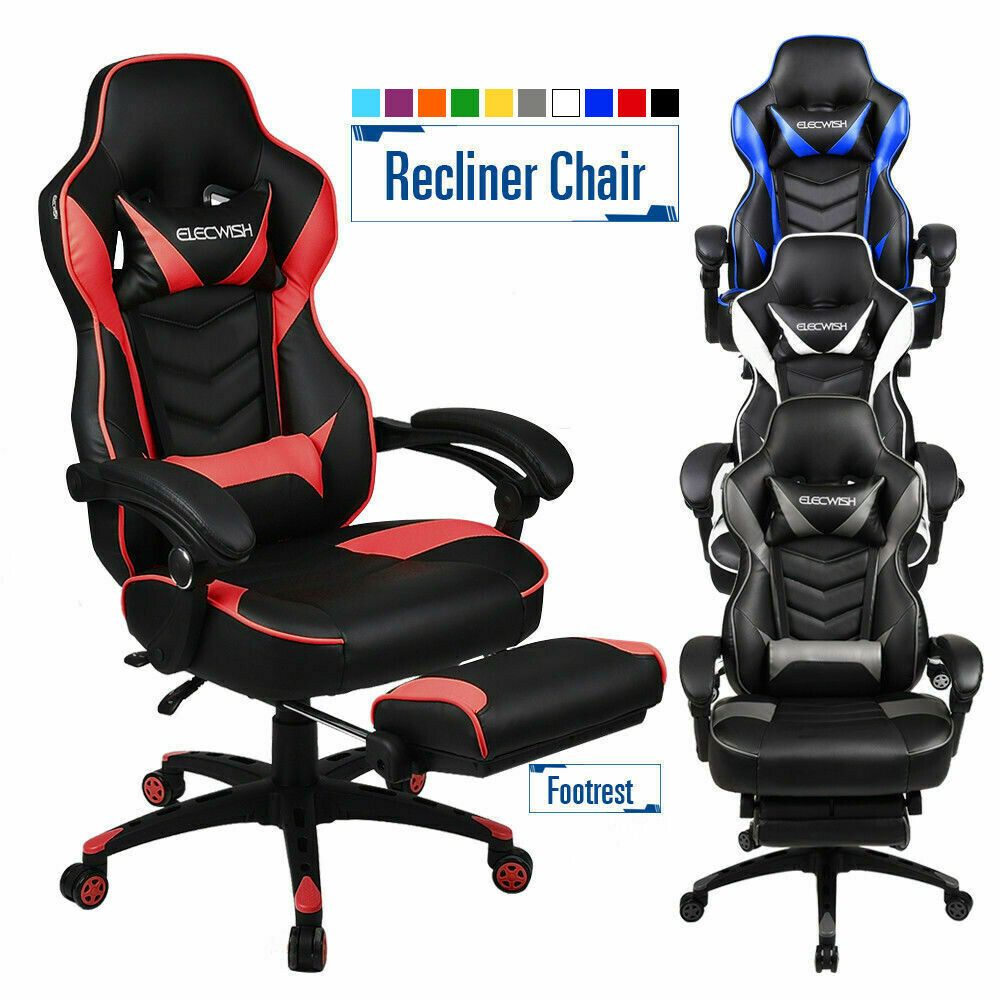 High Back Ergonomic Office Gaming Chair Racing Style