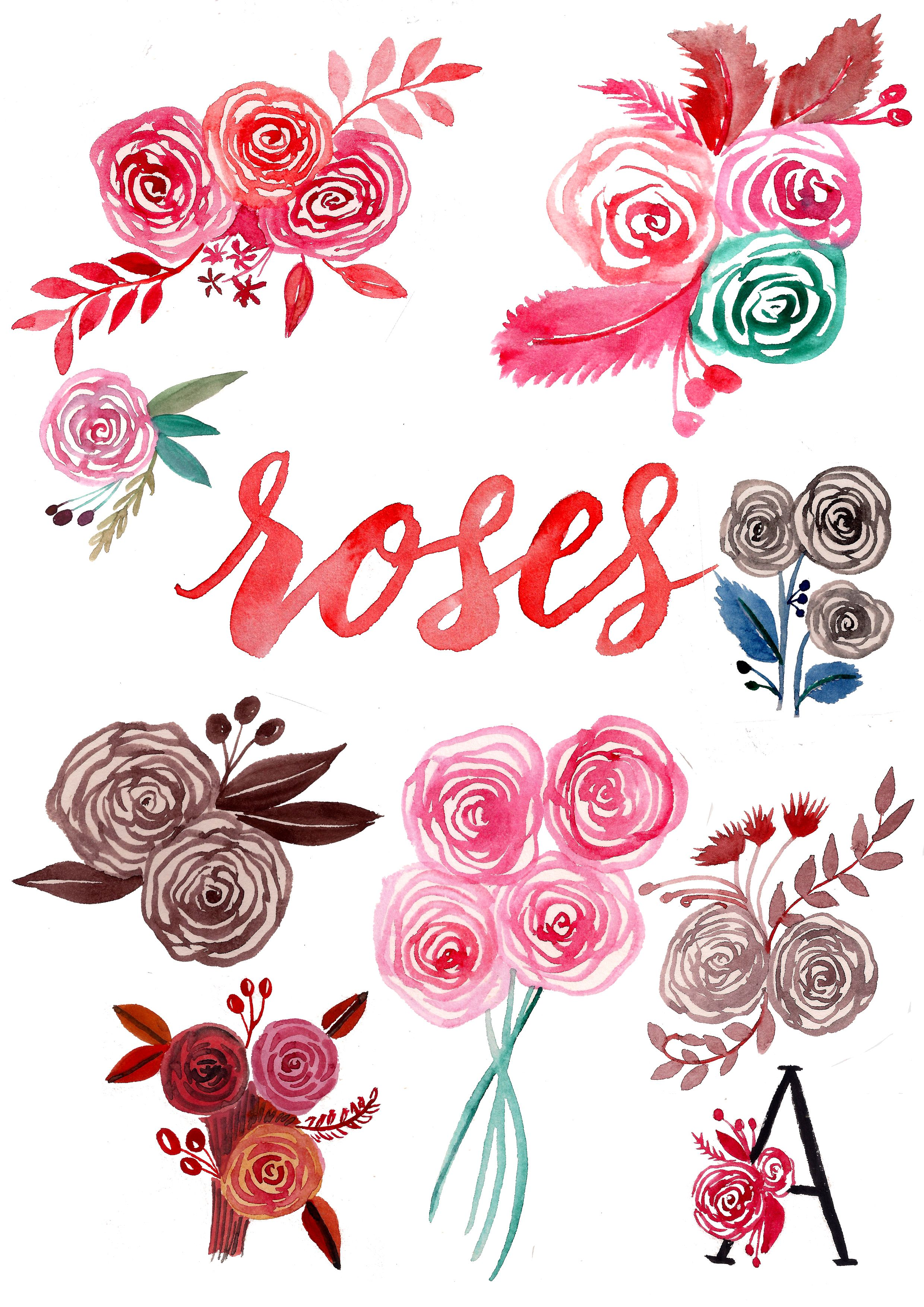 An Easy Way To Paint Rose Blooms (with Video) Flower