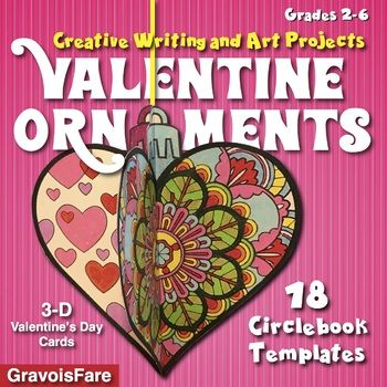 Valentine\'s Day Crafts and Activities—18 Ready-To-Go Ornament ...