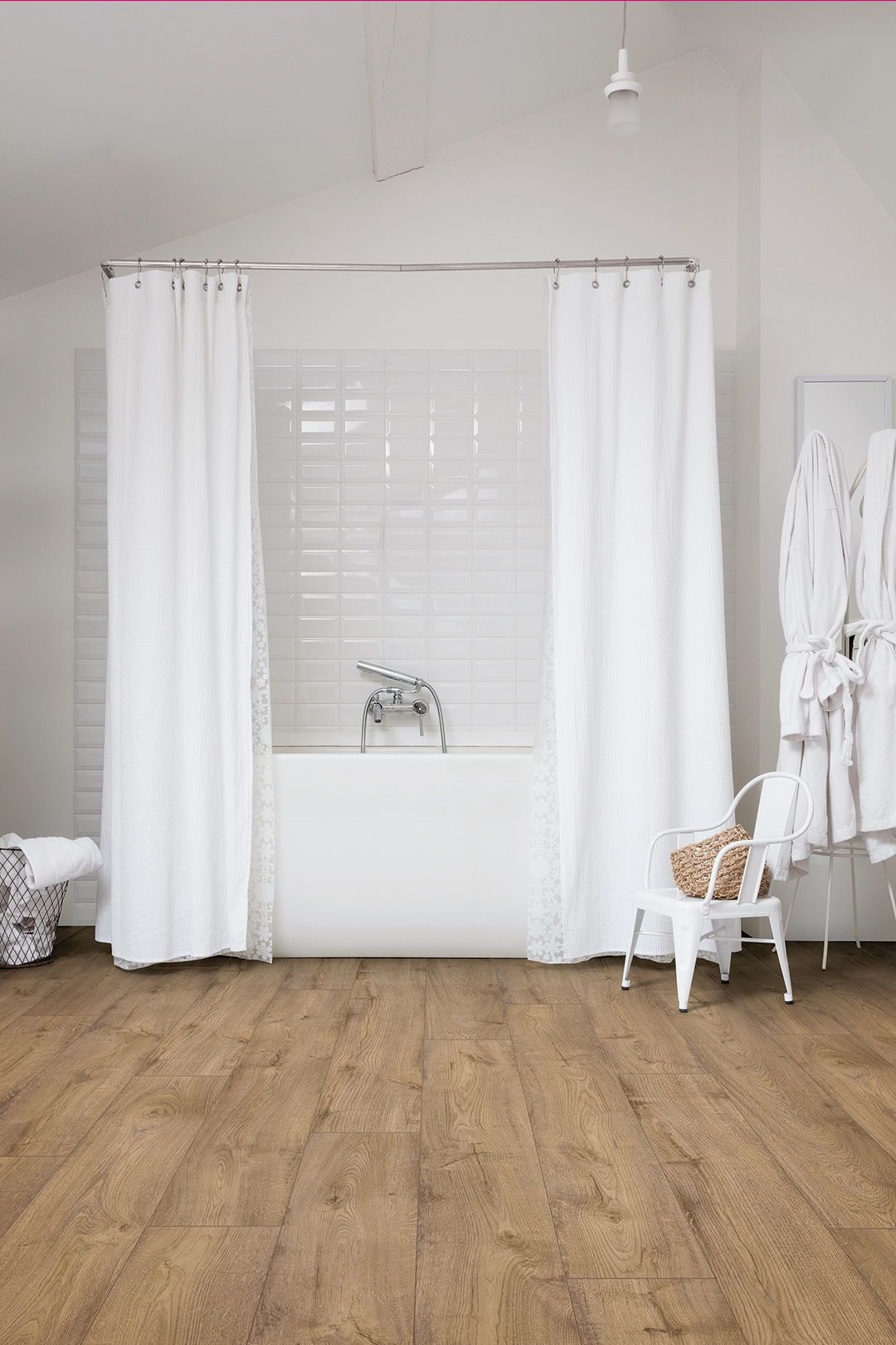 Choose the perfect bathroom floor Linoléum salle de bain