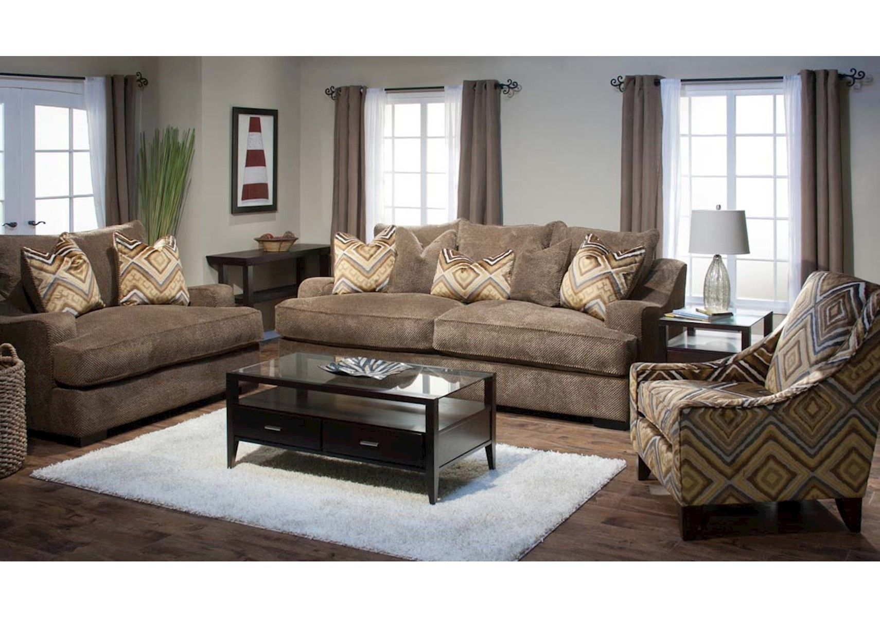 Lacks Stacia 2 Pc Living Room Set