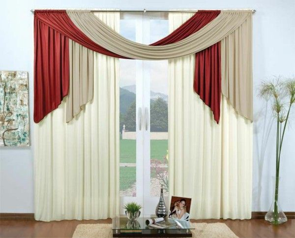 35 Red Curtains For Royal Elegance To Your Living Room Red