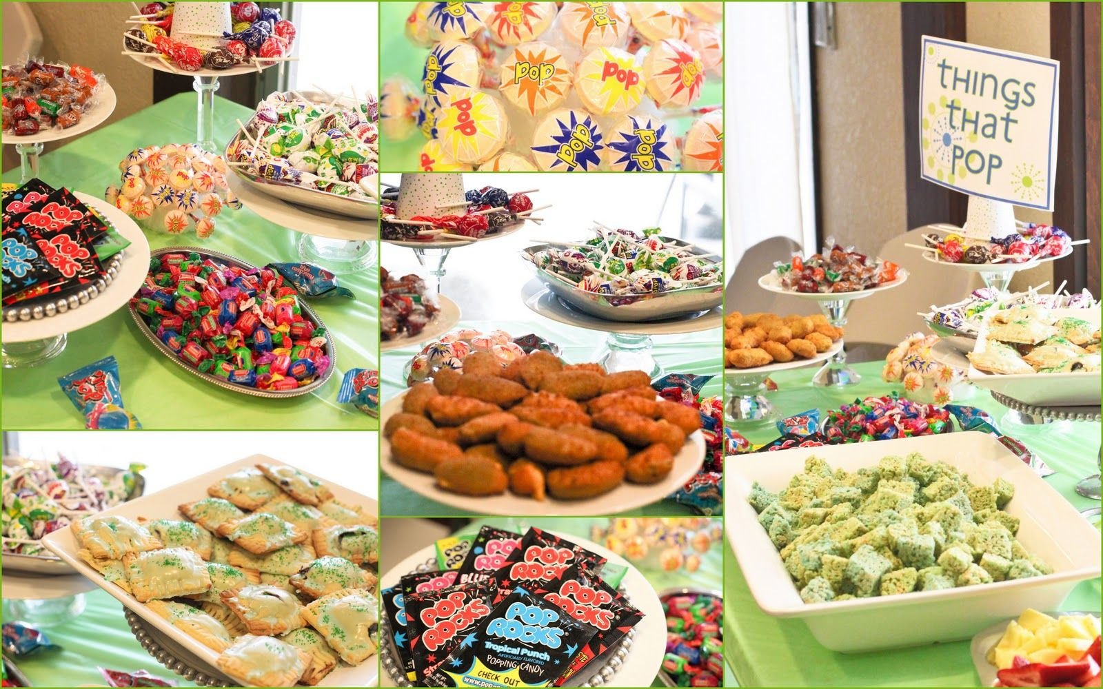 Ready To Pop Baby Shower Food Pop Rocks Lollipops Jalepeno