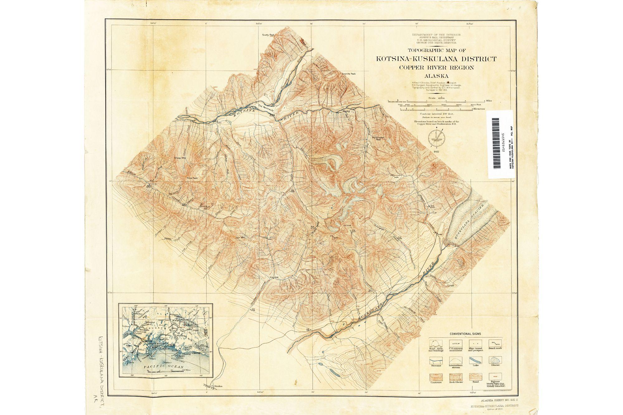 Alaska Topographic Maps, USGS - ATLAS OF PLACES ...